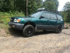 ADF lifted Subaru Forester