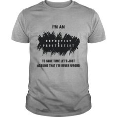 Orthotist and Prosthetist T-Shirts, Hoodies. SHOPPING NOW ==► https://www.sunfrog.com/Jobs/Orthotist-and-Prosthetist-Sports-Grey-Guys.html?id=41382