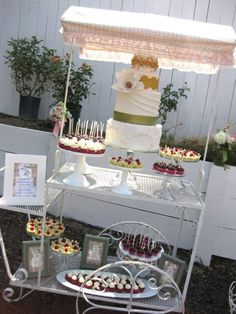 party cart decorations | Found on recipepunch.com