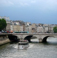 Seine River, Paris france