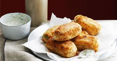 Freshen up an old Australian favourite by adding savoury salmon to the rissole mix.