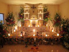 Ofrendas Monumentales de Tochimilco Puebla 2013  - for more of Mexico, visit www.mainlymexican... #Mexico #Mexican #altar