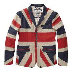 Union Jack Jacket X Design