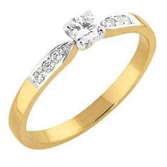 Melinda diamond ring made of gold! Diamond Rings, Diamond Jewelry, Pendants, Engagement Rings, Earrings, Gold, Jewellery, Diamond Jewellery, Enagement Rings