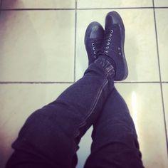 Levis Shoes Black