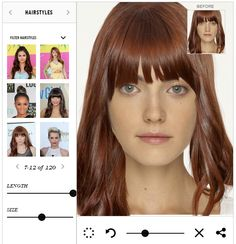 Virtual Hairstyle Virtual Hairstyles  Hair Imaging  Makeover Software  Beauty