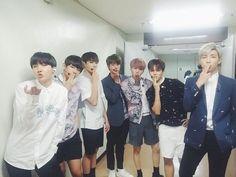 BTS_official (@bts_bighit) Tweet - BTS @Music Bank Last Stage for I Need U Promo 150529