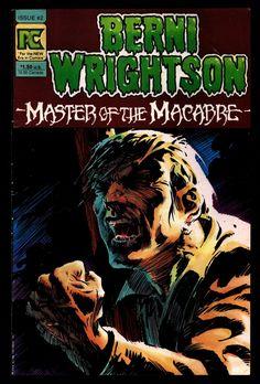 BERNI WRIGHTSON Master of Macabre #2 Pacific Comics Illustrated Horror Fantasy Illustration Mature Comics Art*