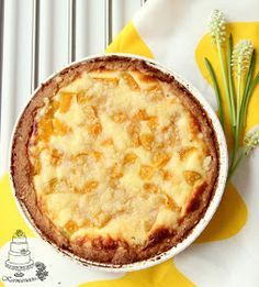 Sweet Pie, Pastry Cake, Deserts, Food And Drink, Favorite Recipes, Sweets, Easter, Pineapple, Patisserie Cake