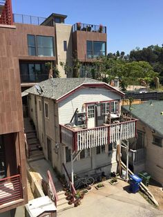 Photo: Small House Swallowed By Bigger Development In Echo Park