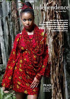 """Shadders: Ituen Basi celebrates """"Independence"""" ~African fashion, Ankara, kitenge, African women dresses, African prints, Braids, Nigerian wedding, Ghanaian fashion, African wedding ~DKK"""