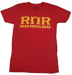 This shirt is perfect to show your love for disney's Monsters University and your favorite fraternity, Roar Omega Roar! - Officially licensed Disney T-shirt - Standard Adult Men's sizes and Fit - Whil