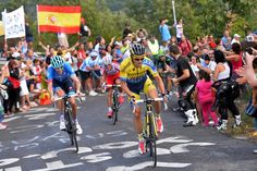 Vuelta a España 2014 - Stage 14: Santander - La Camperona. Valle de Sábero 200.8km - The breakaway on the La Camperona ascent