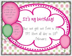 Celebrate my birthday with me with my Birthday BOGOF Bonanza. Buy one product get one free. not to be missed.
