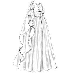 Easy Medieval Dress Patterns