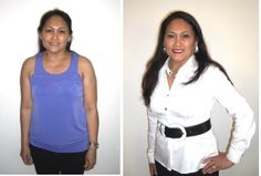 Image Makeover - Photos taken the same day. Stiletto Camps for women are Sandy Dumont's specialty. For info, click below.