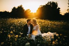We'll take intimate gold hour portraits in a field of wildflowers any day of the week | Image by Tana Helene Photography