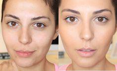 """No Makeup"" Makeup tutorial - uses urban decay baked bronze and a natural looking powder highlighter"