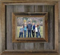 Western Picture Frames, Reclaimed Wood Picture Frames, Barn Wood Picture Frames, Picture Frame Crafts, Rustic Frames, Reclaimed Barn Wood, Picture On Wood, Weathered Wood, Wood Wood