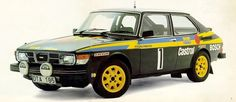 SAAB 99 Turbo. In rally guise the engine produced 240 horsepower (in 1978!) and was among the best when it competed. In the hands of two of Swedish rallying greats Per Eklund and Stig Blomqvist, the 99 scored various wins including the first win by a turbocharged car at the 1979 Swedish Rally. To say that this was the forefather of rallying legends like the Evo and WRX wouldn't be a stretch.