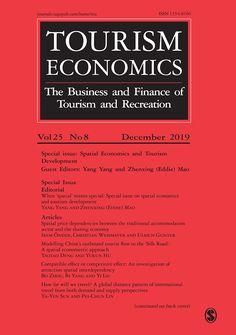 Journal description for Tourism Economics Tourism Development, Economics, Sage, Journals, Finance, Editorial, Product Description, Salvia, Journal Art