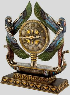 Wings of Isis clock – Toscano