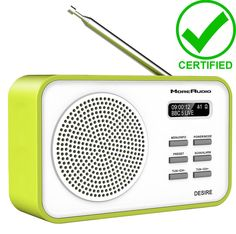 Moreaudio dab + #radio desire clock #alarm portable travel recharge #battery gree,  View more on the LINK: http://www.zeppy.io/product/gb/2/371789454176/