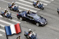 En quoi roulent les présidents de la République française ?