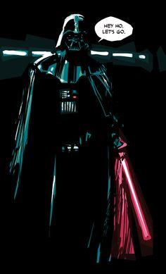 kamisamafr: Darth Vader by Rafael Albuquerque Anakin Vader, Darth Vader, Comic Book Artists, Comic Artist, Rafael Albuquerque, Episode Vii, The Phantom Menace, Last Jedi, Bounty Hunter