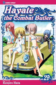 Hayate the Combat Butler, Vol. Little Blonde Girl, Strong Love, Manga Covers, Butler, Anime, 40 Years, Parents, Hilarious, English