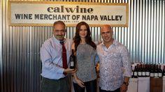 Al with Patrice and Samantha Breton of Vice Versa Wines. Wine Merchant, Napa Valley, Chef Jackets, Coat, Wines, Fashion, Sewing Coat, Moda, La Mode