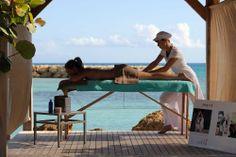 Massage sous le carbet