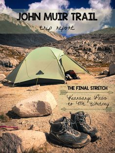 John Muir Trail Trip Report: Kearsarge Pass to Mt. Whitney - tons of photos, tips, and useful info about the final stretch of trail.