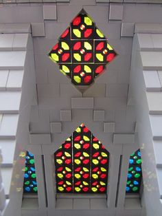lego stained glass window - Google Search