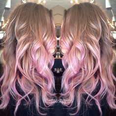 Pink ombre maybe?