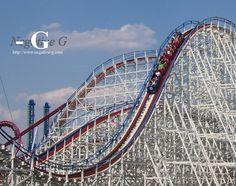 The Great American Scream Machine! Six Flags Over Georgia!