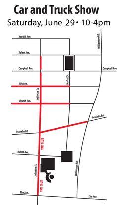 Star City Madness~~Car & TruckShow~~saturday Downtown Roanoke