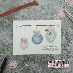 Baumzauber - Stitchery - Stampin' Up! Christen, Stampin Up, Instagram, Paper Mill, Stamps, Glee, Cards, Christmas, Stamping Up