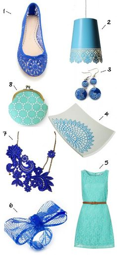 pattern-play: a round-up of today's trendiest patterns (seaside lace!)