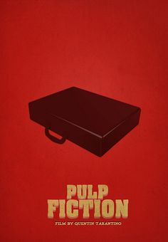 pulp fiction poster. szymon fischer.