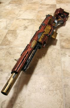 Nerf Longstrike CS-6 Oh man, this project took... -