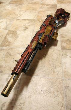 Nerf Longstrike CS-6 Oh man, this project took... -
