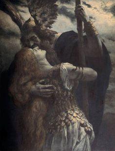 Wotan's Farewell to Brünnhilde, Ferdinand Leeke