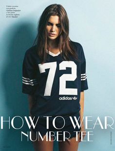 HOW TO WEAR NUMBER TEE | Collage Vintage