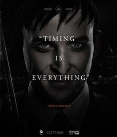 Robin Lord Taylor. Oswald Cobblepot. Gotham. I love him
