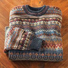 grandfather sweater
