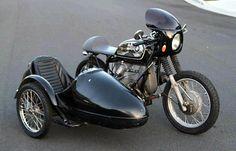 Sidecar Cafe Racer BMW