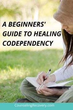 """Originally, codependency was defined as being in a relationship with an alcoholic. Over time that definition expanded to a pattern of dysfunctional relationships that includes issues of control, difficulty setting boundaries and being a """"human doing"""" rather than someone with needs. Learn how to start codependency recovery and truly heal your self-esteem and relationships. #codependency #boundaries #relationships #selfcare"""