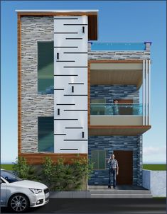 House Front Wall Design, Single Floor House Design, House Outside Design, Small House Design, 3 Storey House Design, Bungalow House Design, House Plans Mansion, Duplex House Plans, House Elevation