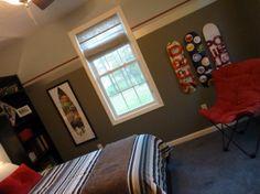 Cool Tween Bedroom   Boysu0027 Room Designs   Decorating Ideas   HGTV Rate My  Space   Trevu0027s Room   Pinterest   Boys, Tween And Design